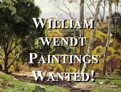 Buying William Wendt Paintings!