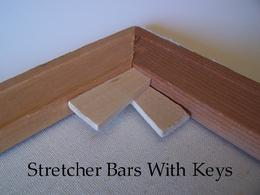 Stretcher Bar Corner Keys Wedges